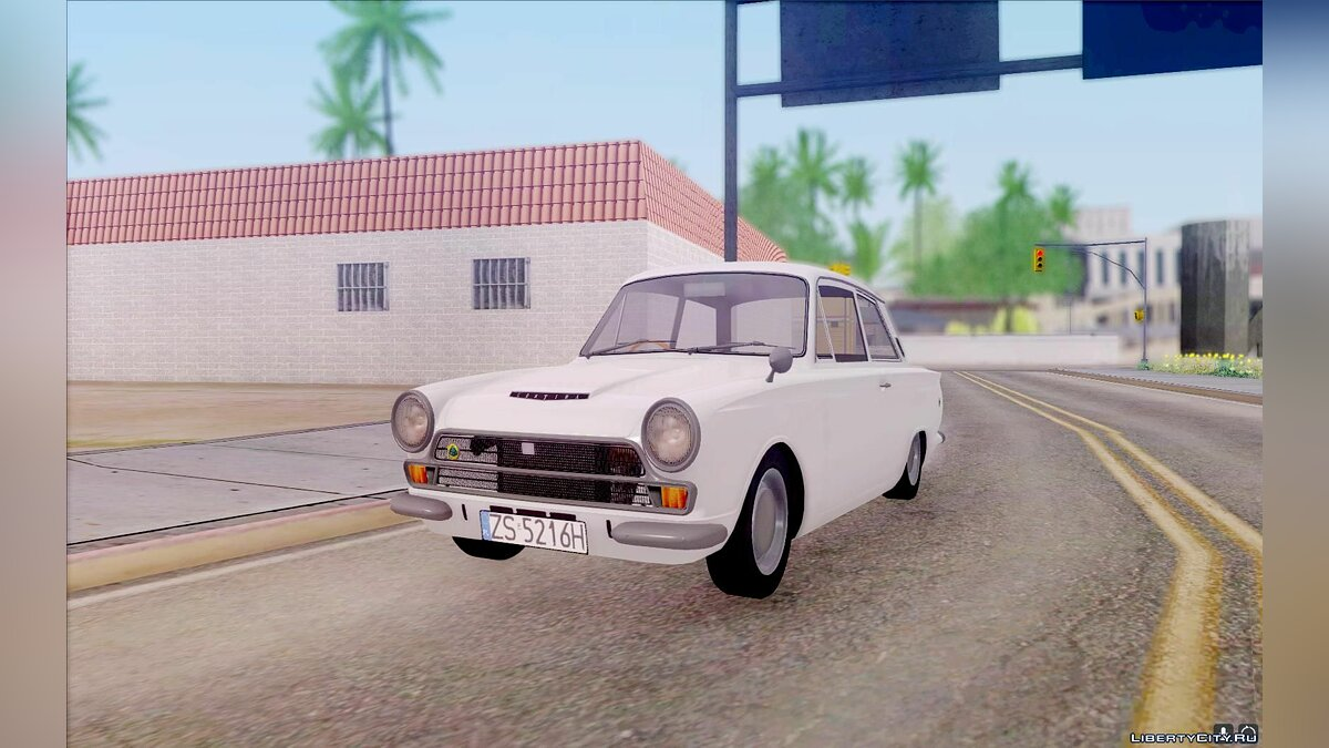 Lotus car Lotus Cortina Mk1 1963 for GTA San Andreas