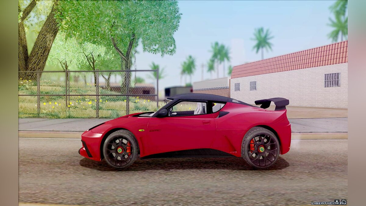Lotus car Lotus Evora GTE 2011 for GTA San Andreas