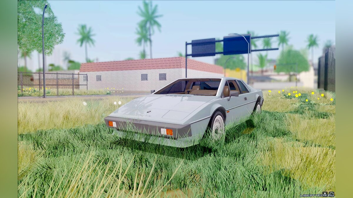 Lotus car Lotus Esprit S3 for GTA San Andreas