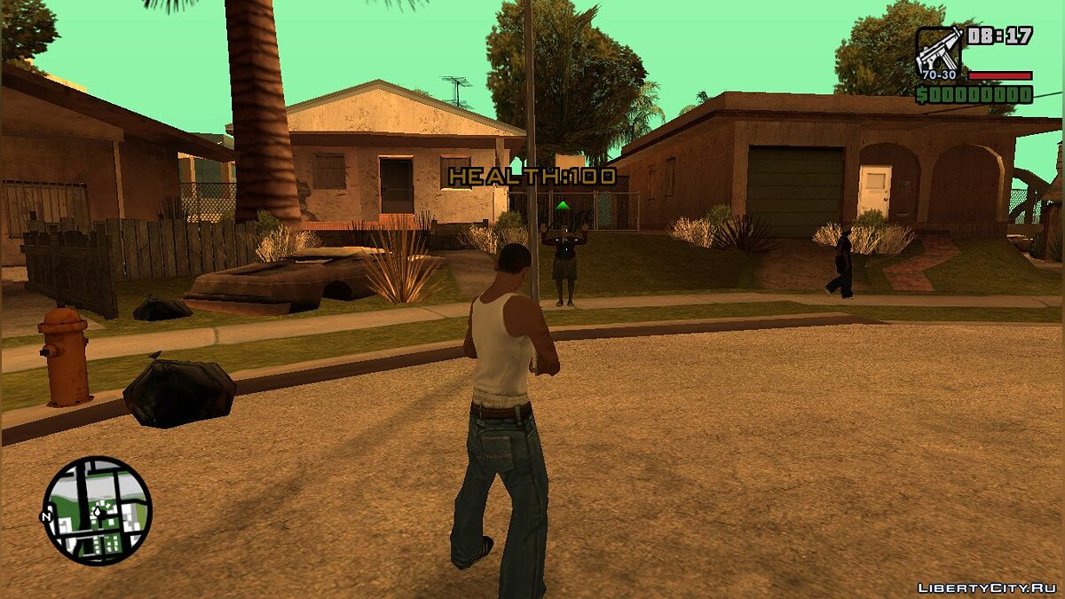 LUA script [Lua] Health indicator for passers-by for GTA San Andreas