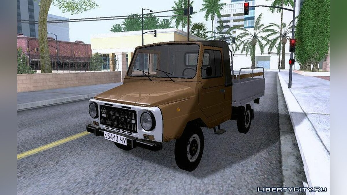 LUAZ car LuAZ-13021 for GTA San Andreas