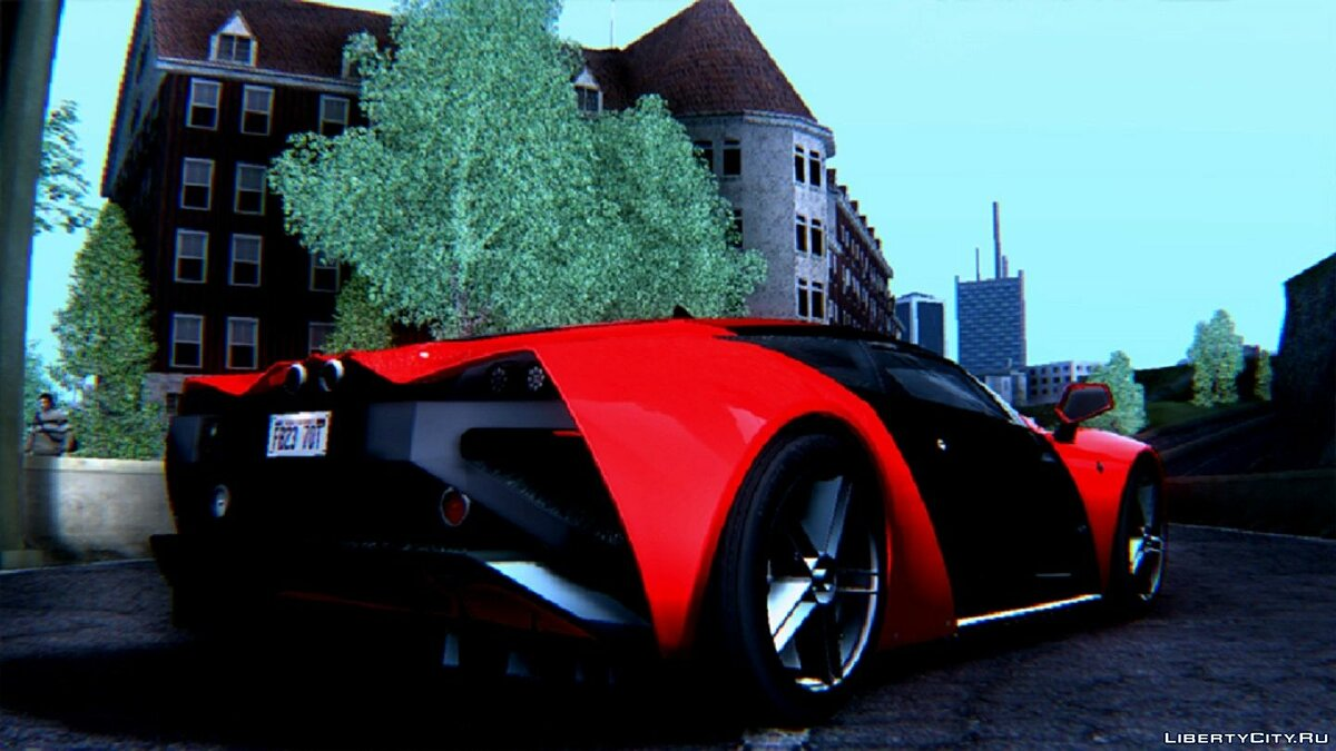 Marussia car 2010 Marussia B2 V1.0 for GTA San Andreas