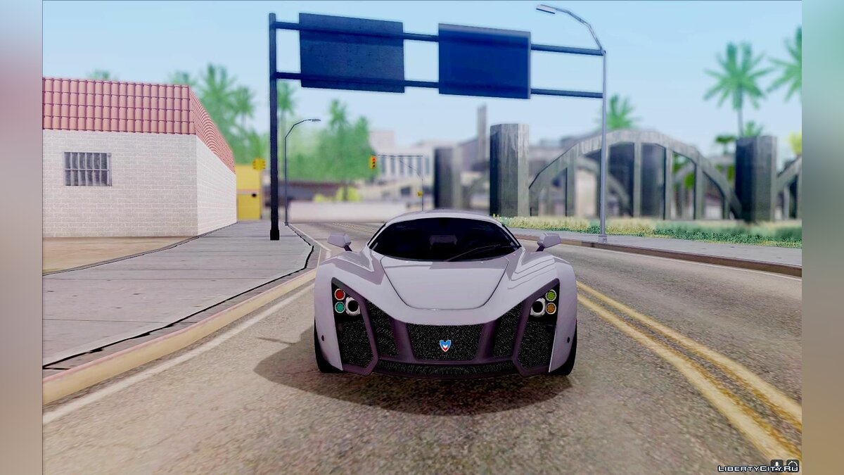 Marussia car Marussia B2 2010 for GTA San Andreas