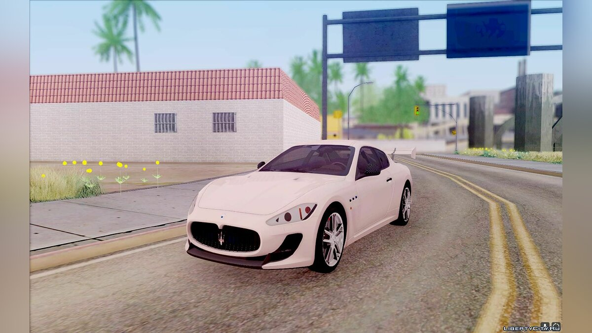 Maserati car Maserati Gran Turismo MC Stradale for GTA San Andreas