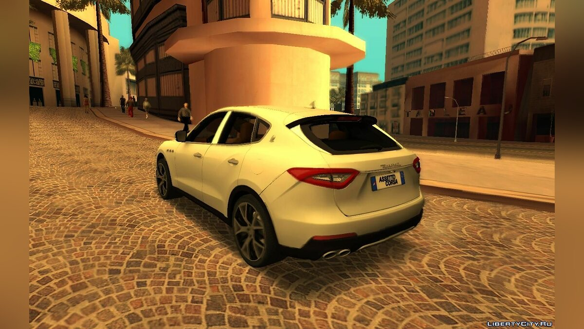 Maserati car Maserati Levante [RHA] for GTA San Andreas