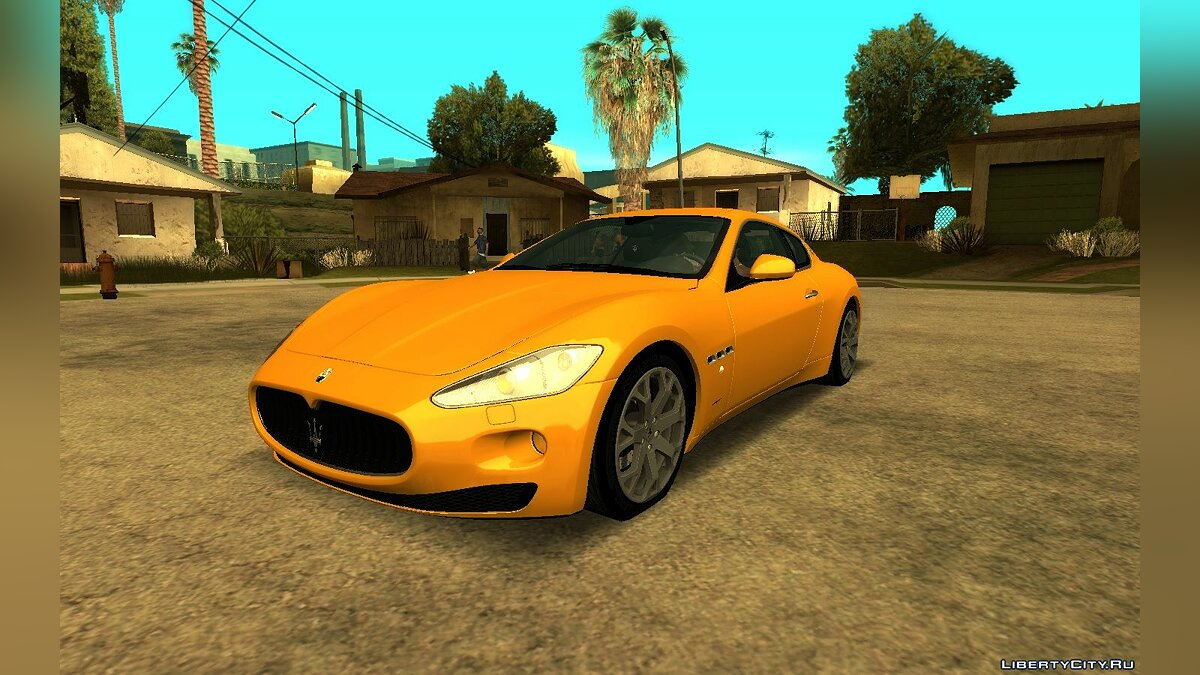 Maserati car Maserat Granturisto S for GTA San Andreas