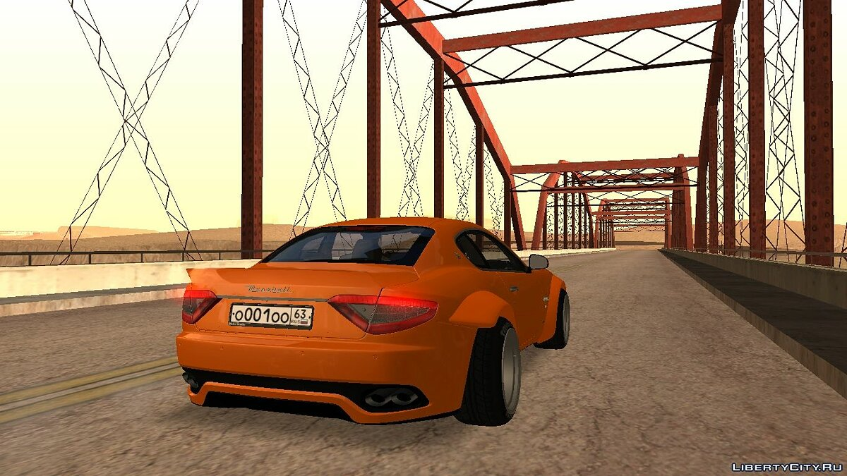 Maserati car Maserati gran turismo for GTA San Andreas