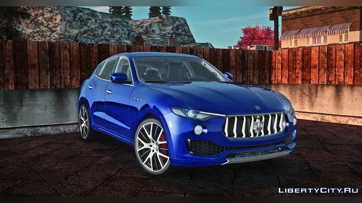 Maserati car Maserati Levante 2017 for GTA San Andreas