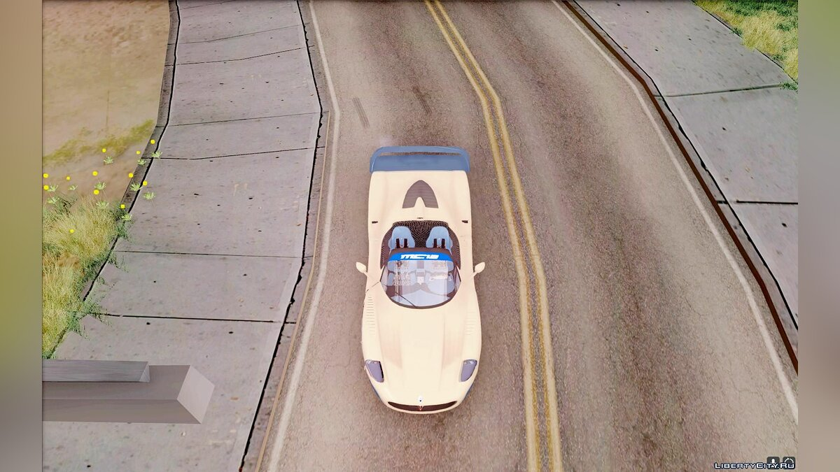 Maserati car Maserati MC12 for GTA San Andreas