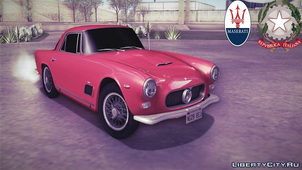 Maserati car 1964 Maserati 3500 GTi for GTA San Andreas