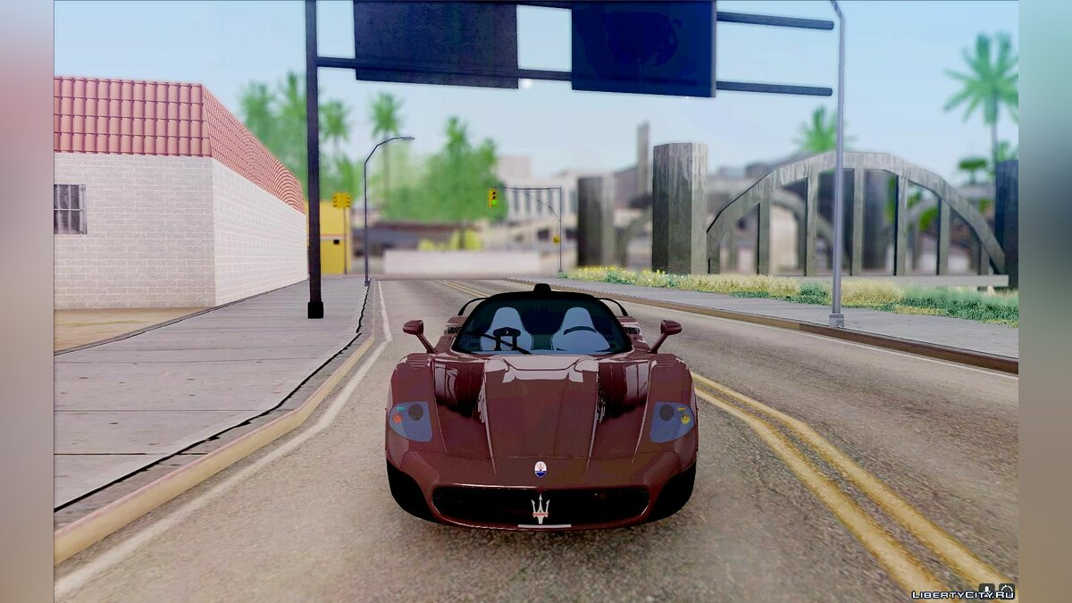 Maserati car Maserati MC12 V1.0 for GTA San Andreas