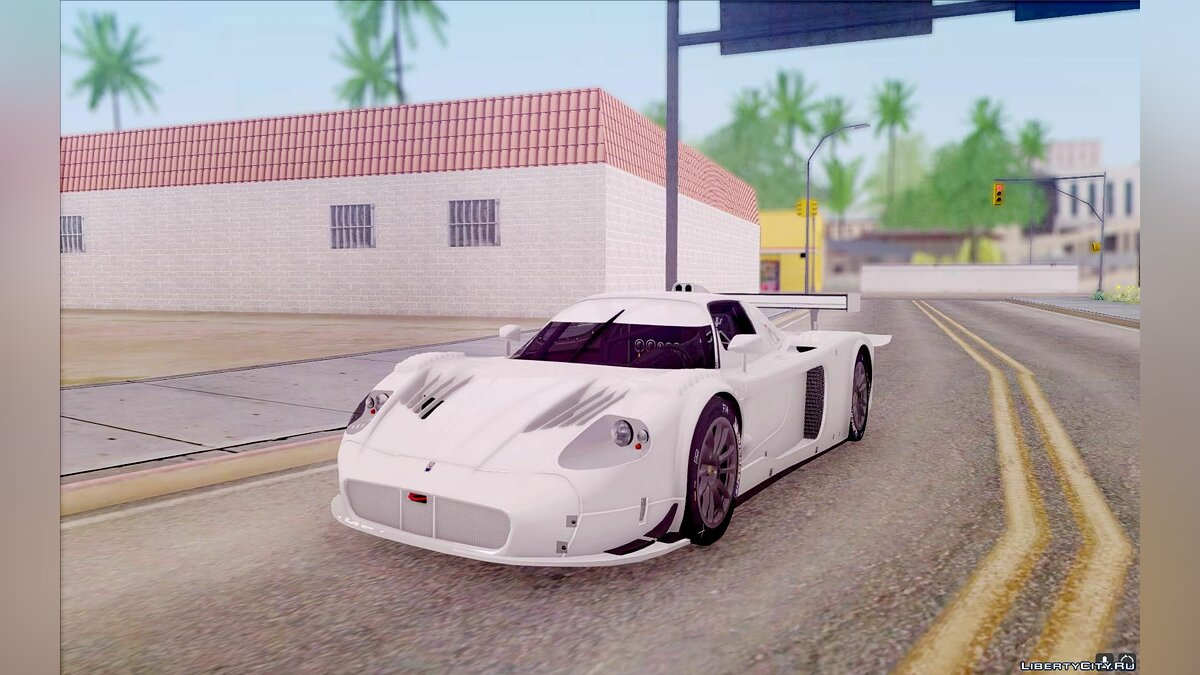 Maserati car Maserati MC12 GT1 for GTA San Andreas
