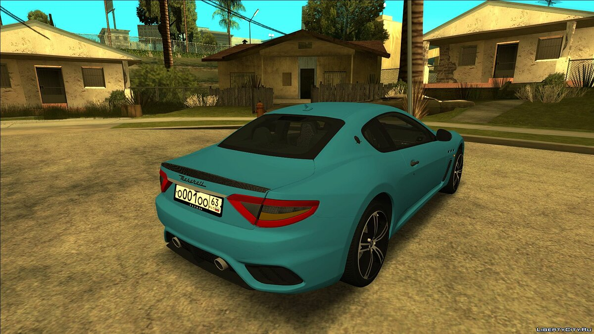 Maserati car Maserati GranTurismo MC Stradale '18 for GTA San Andreas