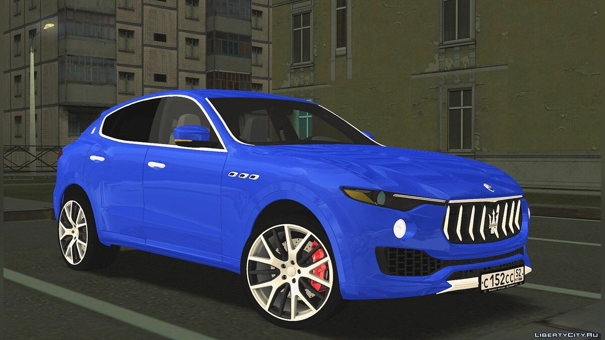 Maserati car Maserati Levante for GTA San Andreas