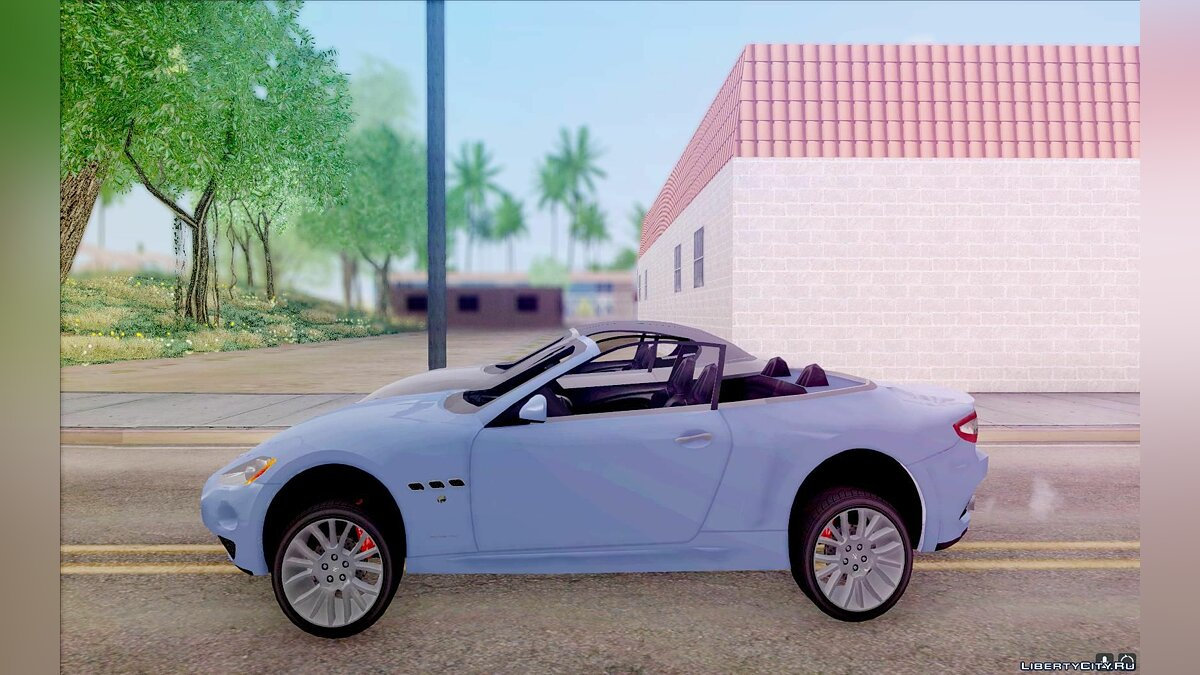 Maserati car Maserati GranCabrio 2011 for GTA San Andreas