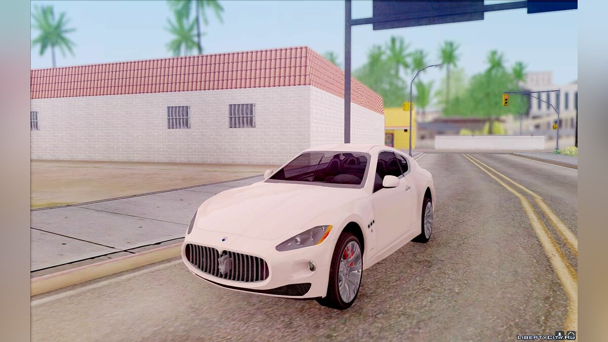 Maserati car Maserati GranTurismo S for GTA San Andreas