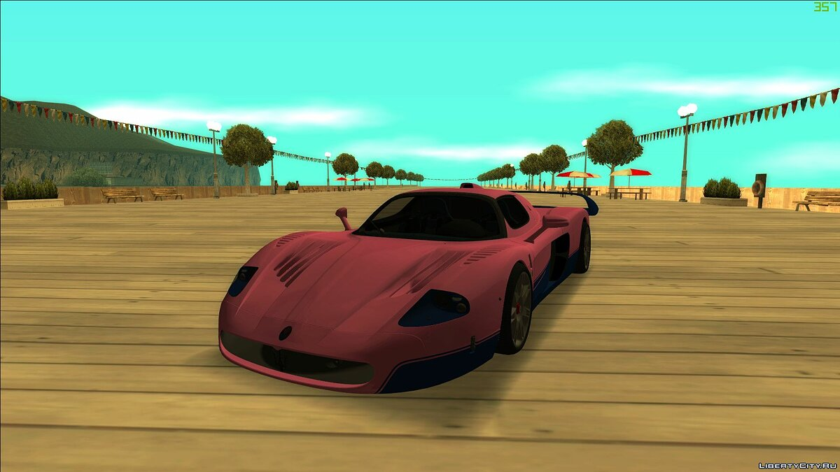 Maserati car Maserati MC12 2004 for GTA San Andreas