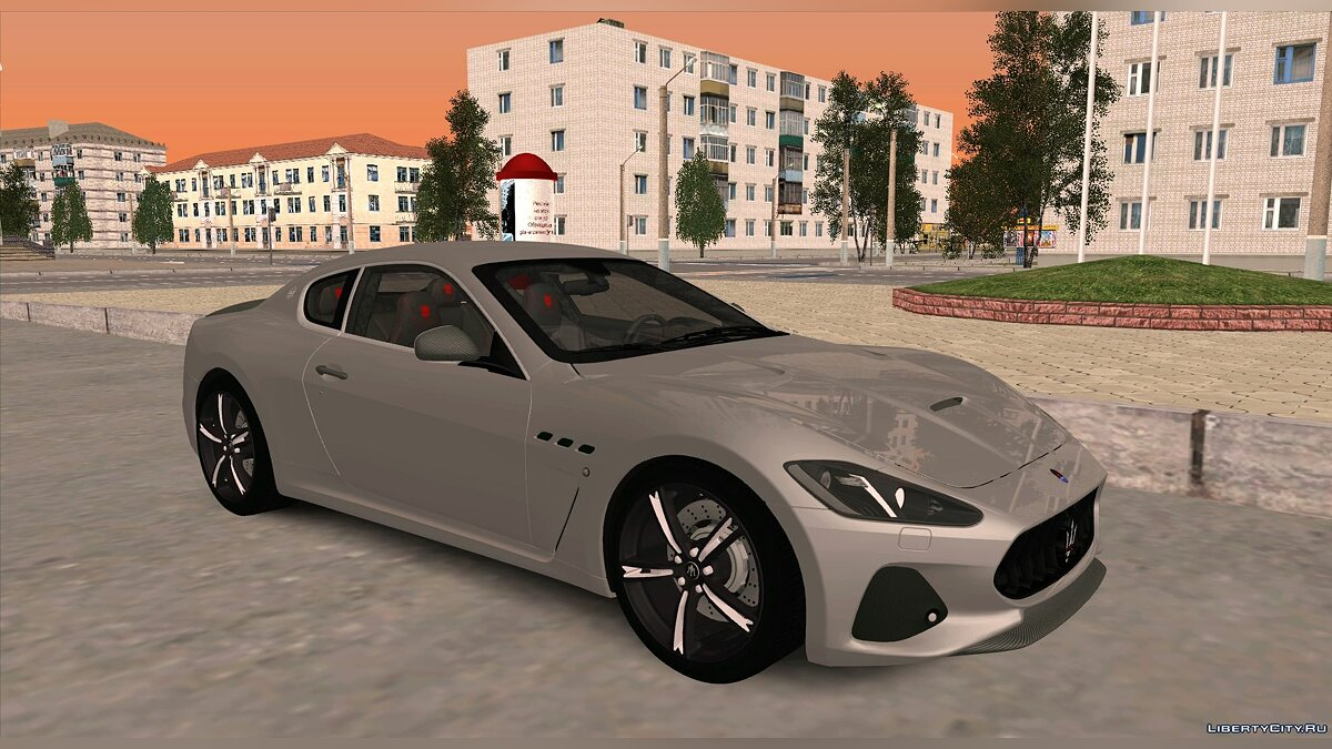 Maserati car Maserati GranTurismo MC Stradale 18 ' for GTA San Andreas