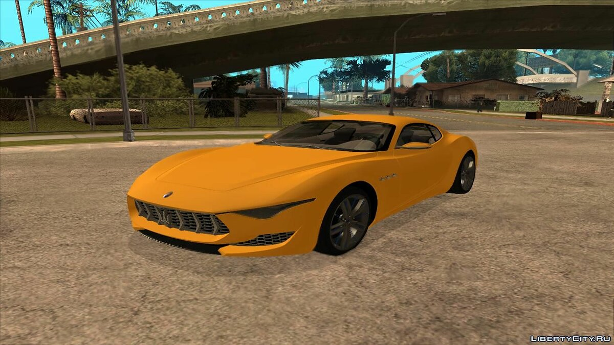 Maserati car Maserati Alfieri Concept for GTA San Andreas
