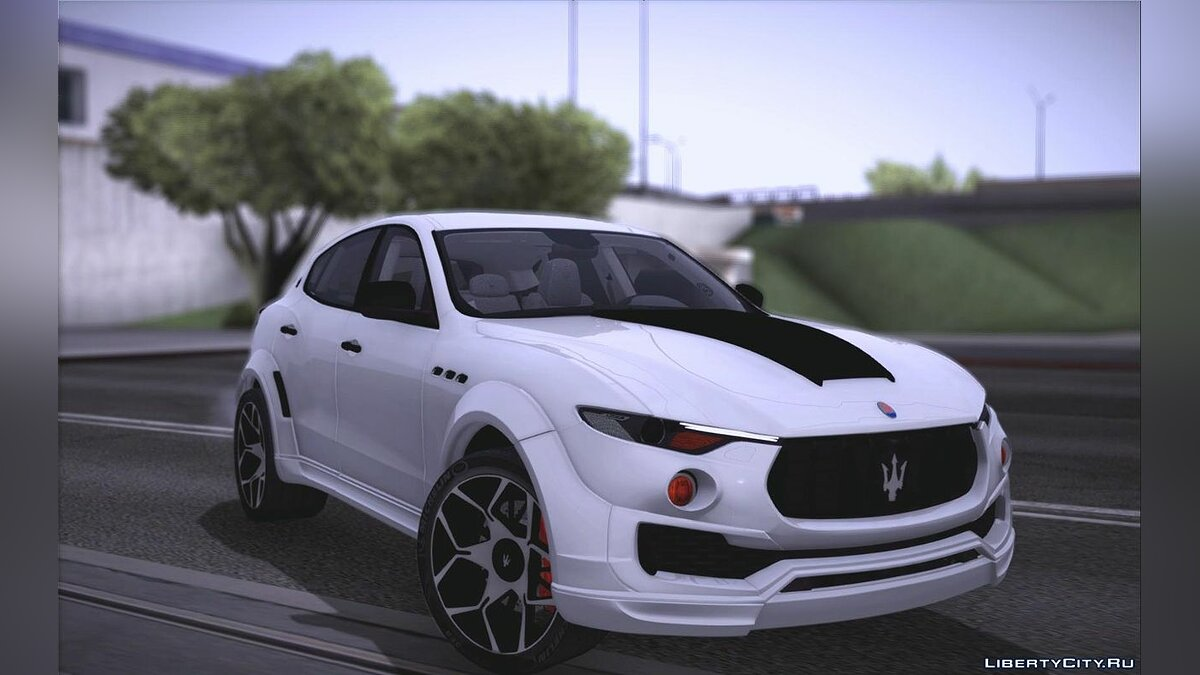 Maserati car Maserati Levante Novitec for GTA San Andreas