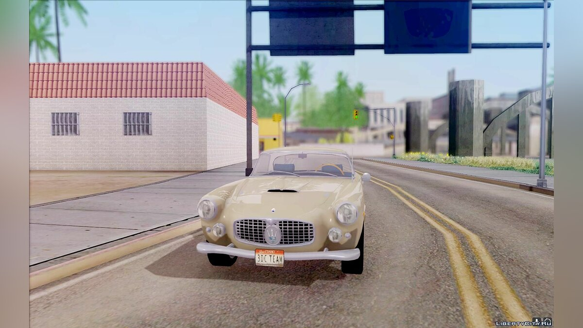 Maserati car Maserati 3500 GT for GTA San Andreas