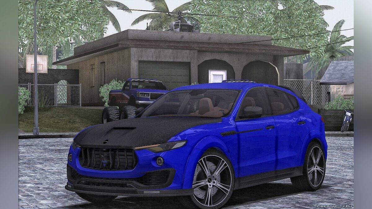 Maserati car Maserati Levante Mansory for GTA San Andreas