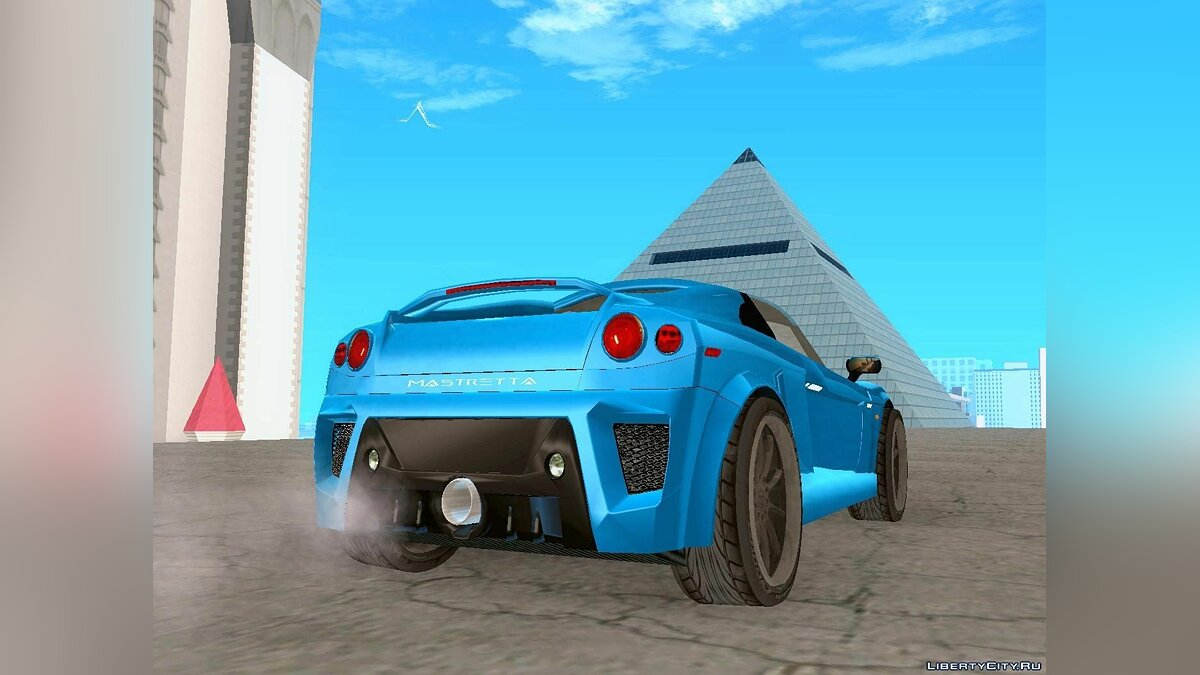 Mastretta car Mastretta MXT v1.1 for GTA San Andreas