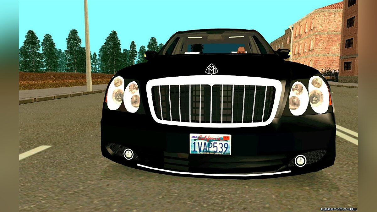 Maybach car Maybach 57S for GTA San Andreas