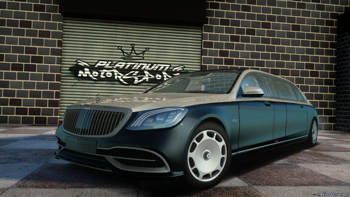 Maybach car Mercedes-Maybach Pullman 2019 for GTA San Andreas