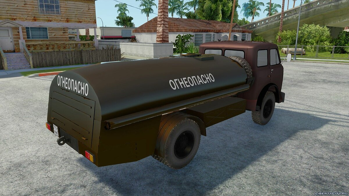 MAZ car MAZ-5334 Fuel tanker for GTA San Andreas