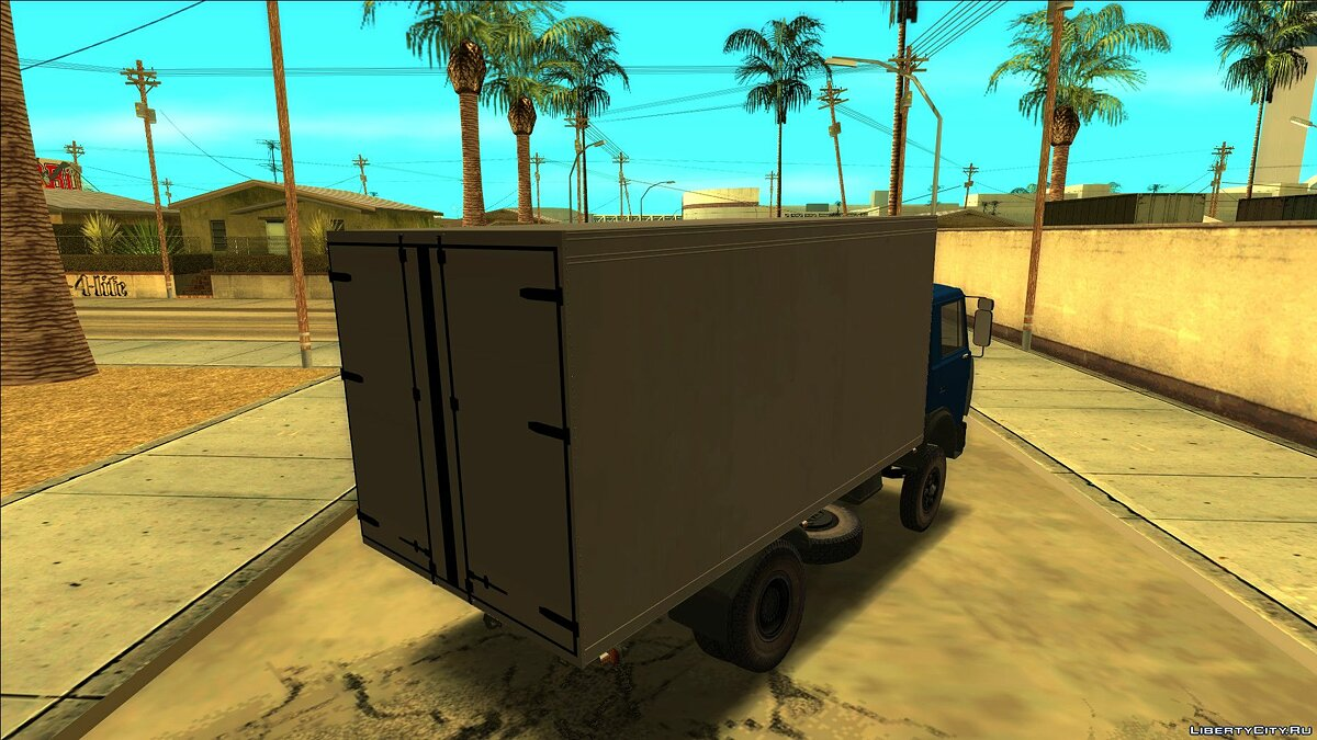 MAZ car MAZ - 5337 Thermal booth for GTA San Andreas