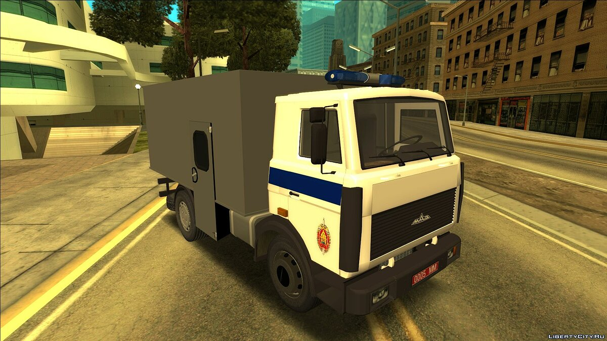MAZ car MAZ FSIN for GTA San Andreas