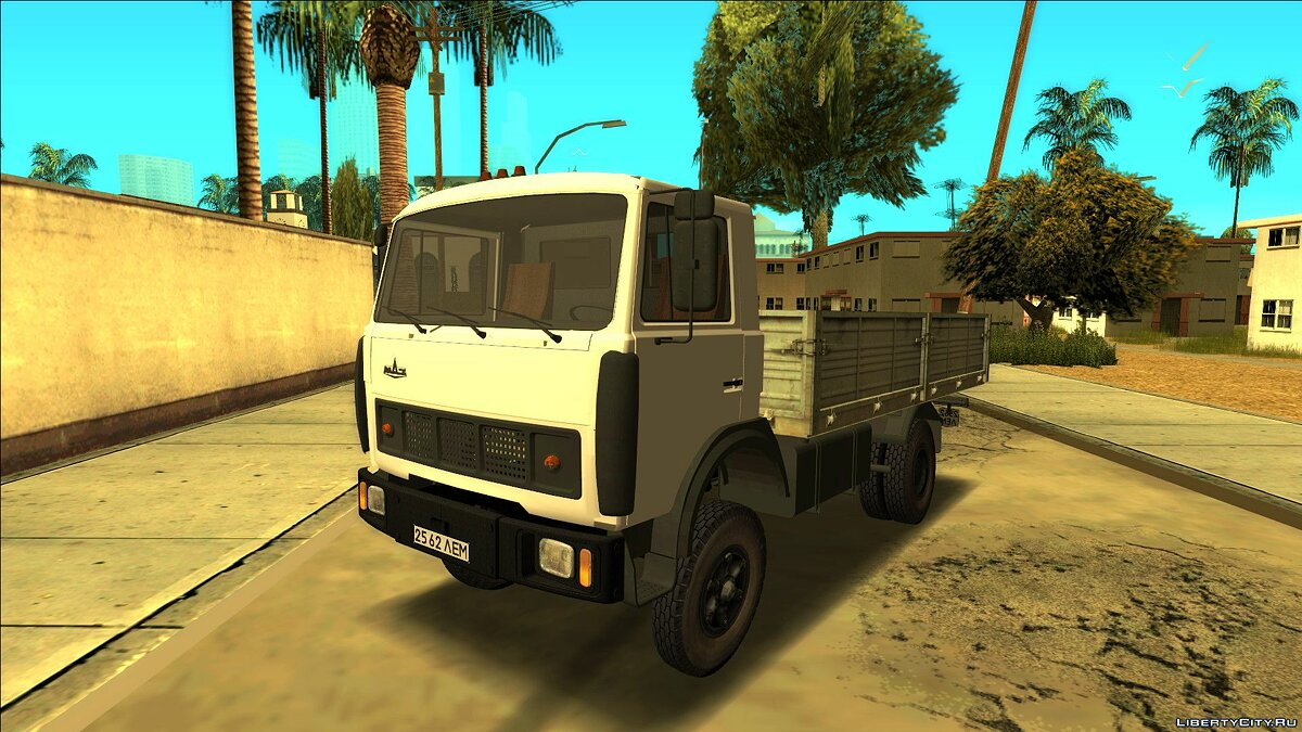 MAZ car MAZ - 5337 Onboard for GTA San Andreas