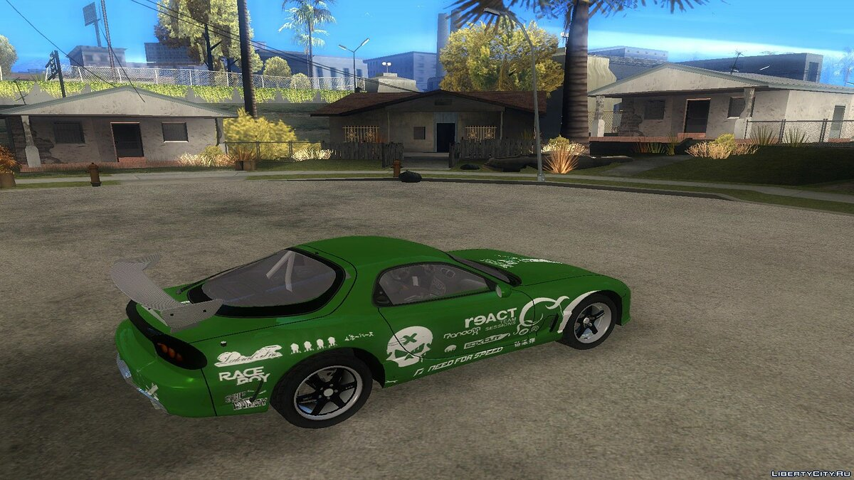 Mazda car NFS Prostreet RX-7 NFS Undercover Version V2 for GTA San Andreas