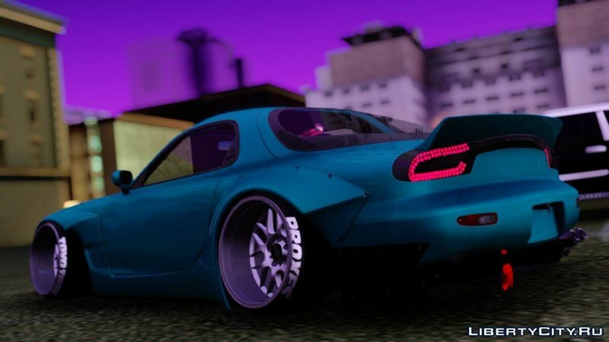 Mazda car Mazda RX-7 for GTA San Andreas