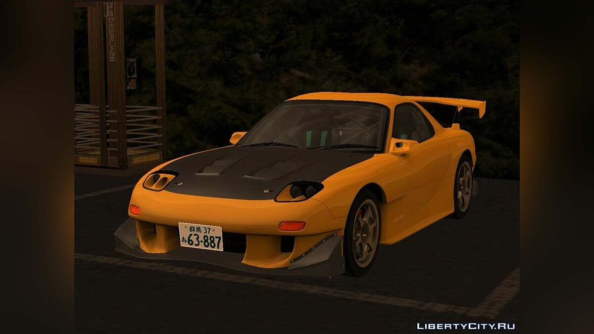 Mazda car Initial D Fifth Stage Mazda RX-7 Efini FD3s for GTA San Andreas