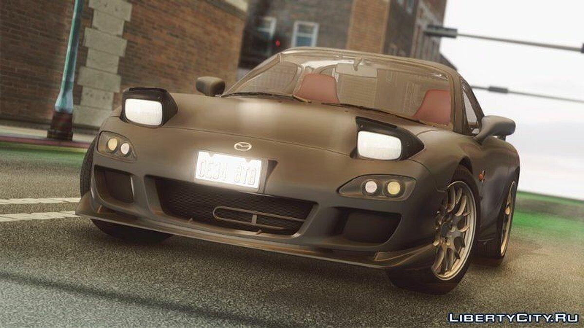 Mazda car 2002 Mazda RX-7 Spirit R Type A for GTA San Andreas