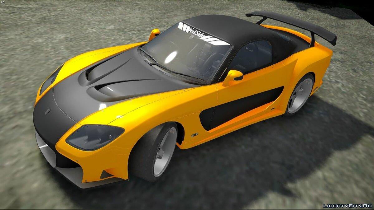 Mazda car 1993 Mazda RX7 Veilside Fortune Fast and Furious Tokyo Drift for GTA San Andreas