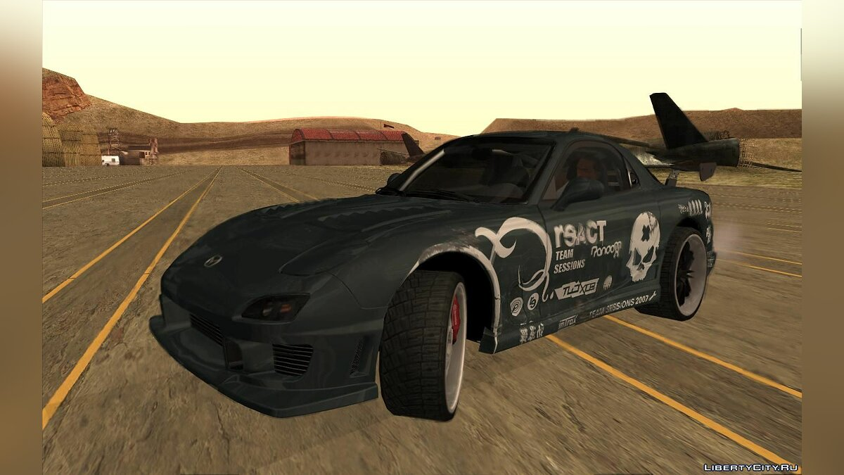 Mazda car Mazda RX-7 FD3S -R3ACT Team Sessions for GTA San Andreas