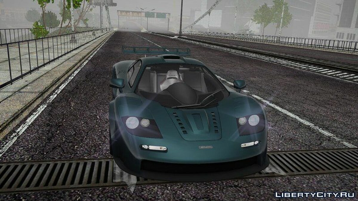 McLaren car McLaren F1 for GTA San Andreas