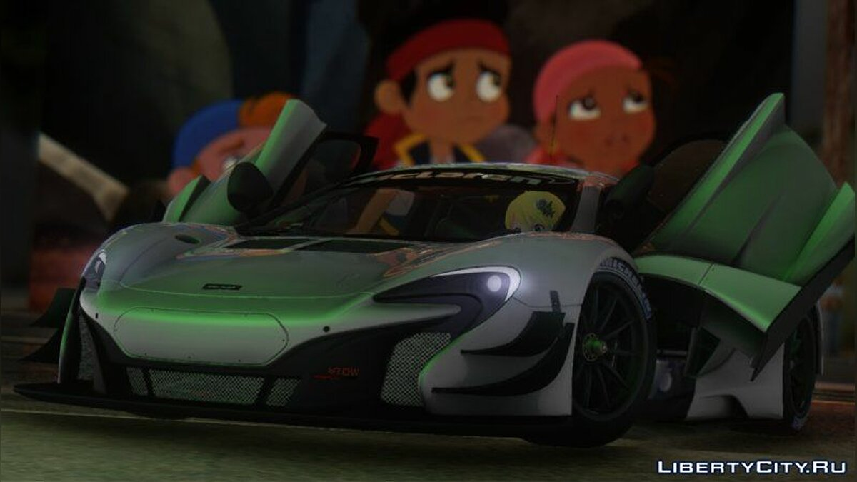 McLaren car 2015 McLaren 650S GT3 for GTA San Andreas