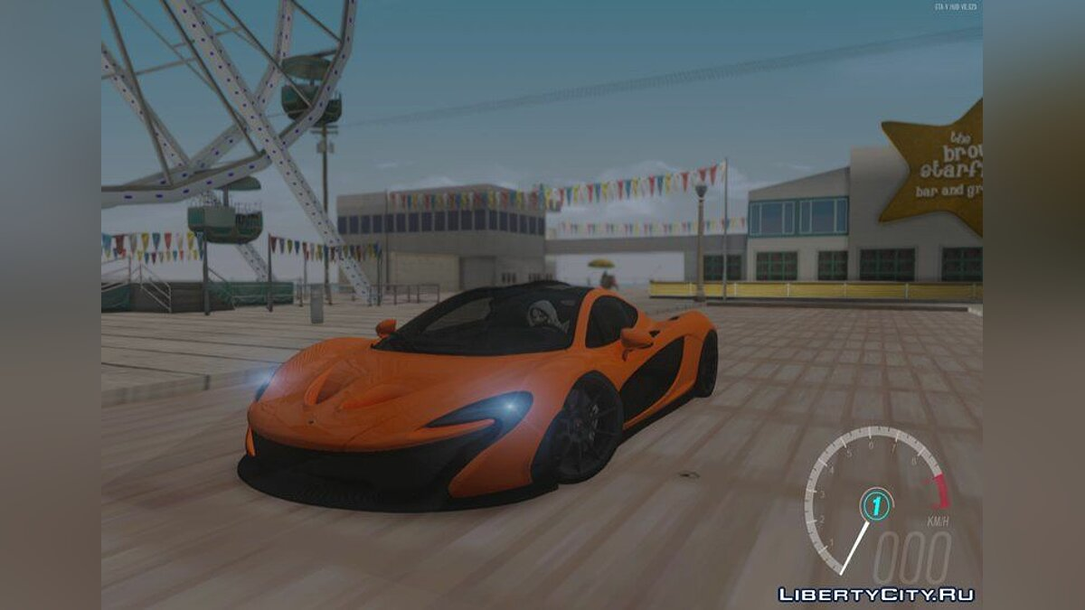 McLaren car Mclaren P1 Stock for GTA San Andreas