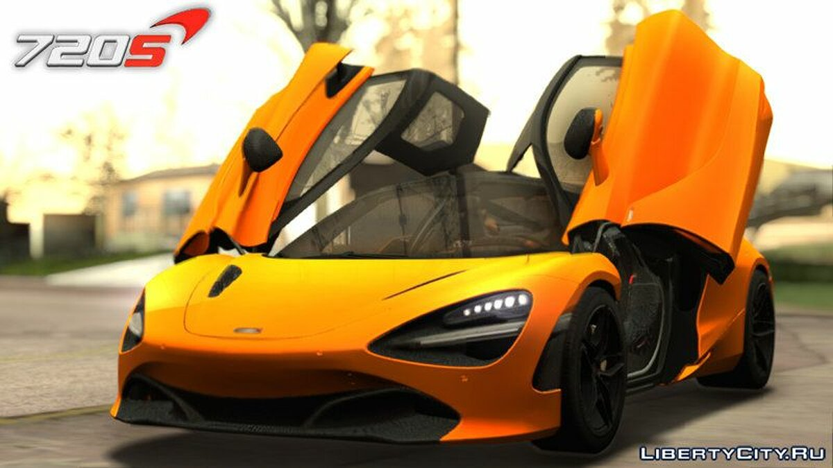 McLaren car 2017 McLaren 720S for GTA San Andreas