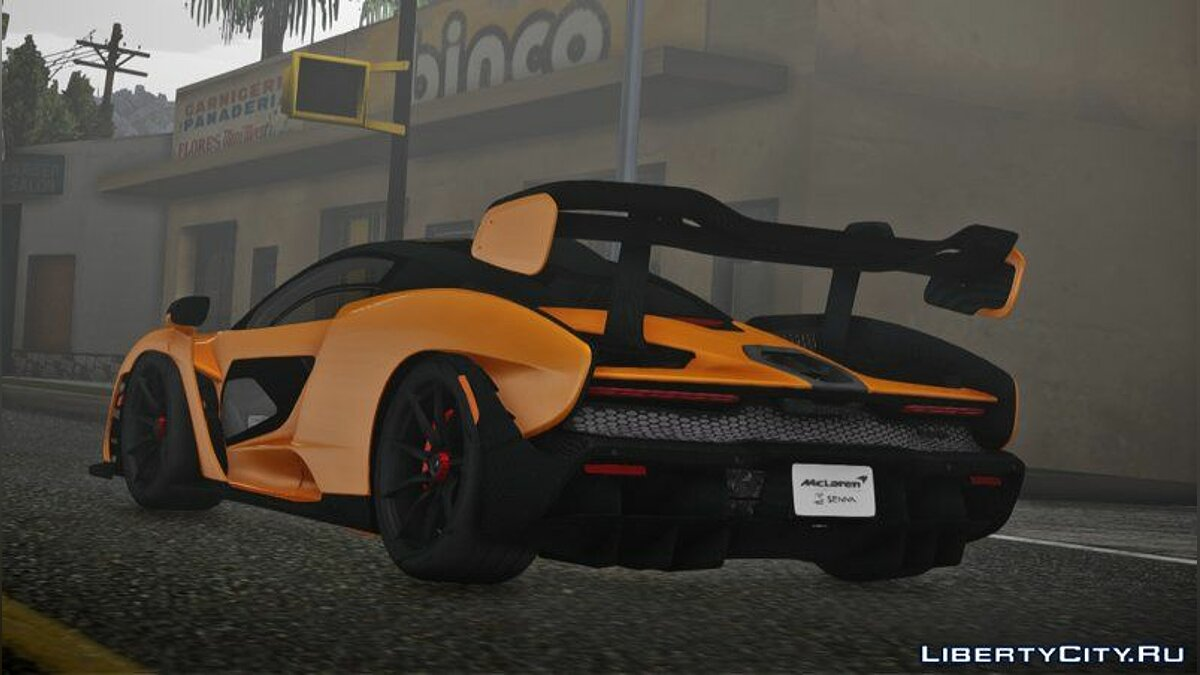 McLaren car 2018 McLaren Senna for GTA San Andreas