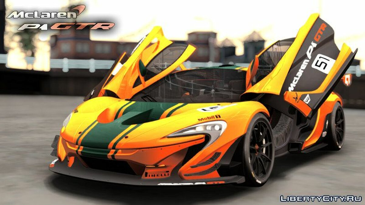 McLaren car 2016 Mclaren P1 GTR for GTA San Andreas