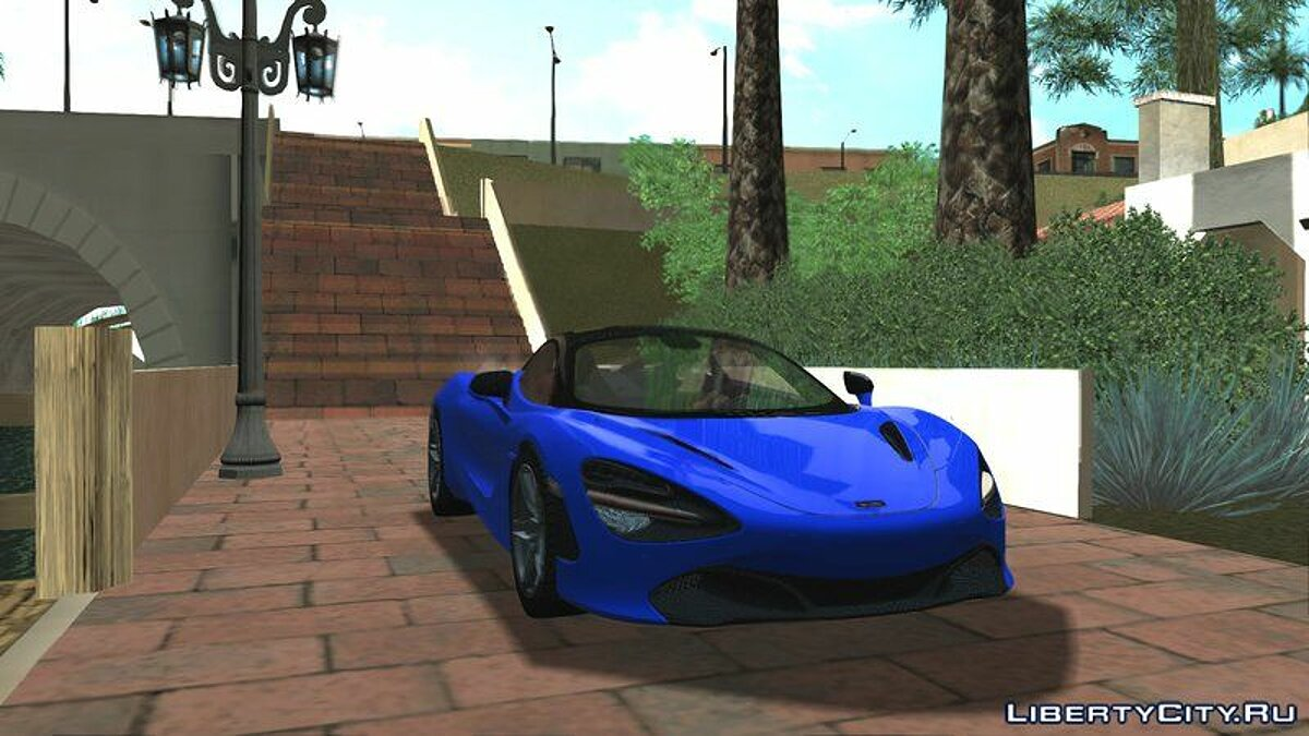 McLaren car McLaren 720S for GTA San Andreas