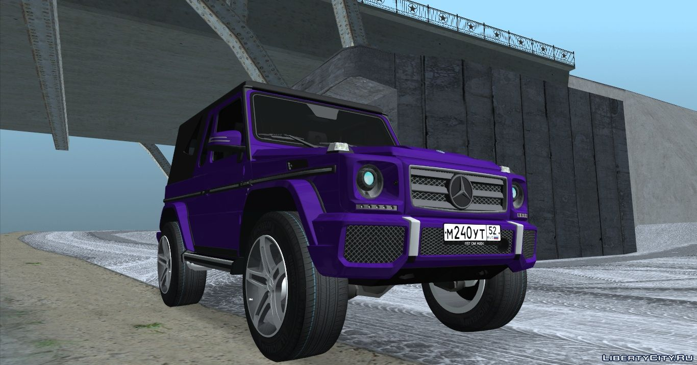 Mercedes Benz G Class Convertible For Gta San Andreas