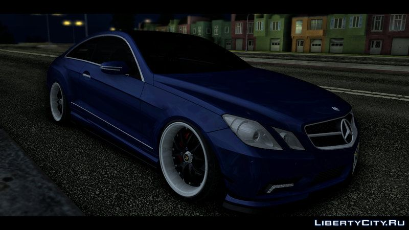 Mercedes benz w207 japan style for gta san andreas for Mercedes benz w207