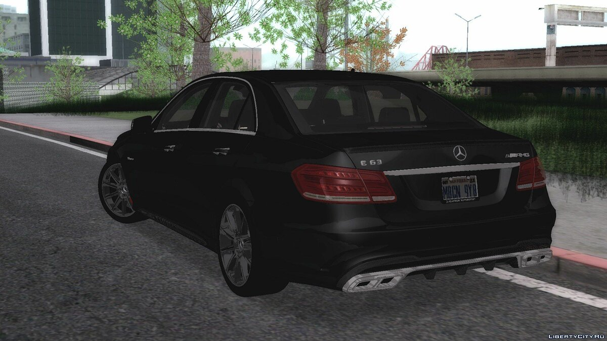 Mercedes-Benz car Mercedes-Benz E63 W212 for GTA San Andreas