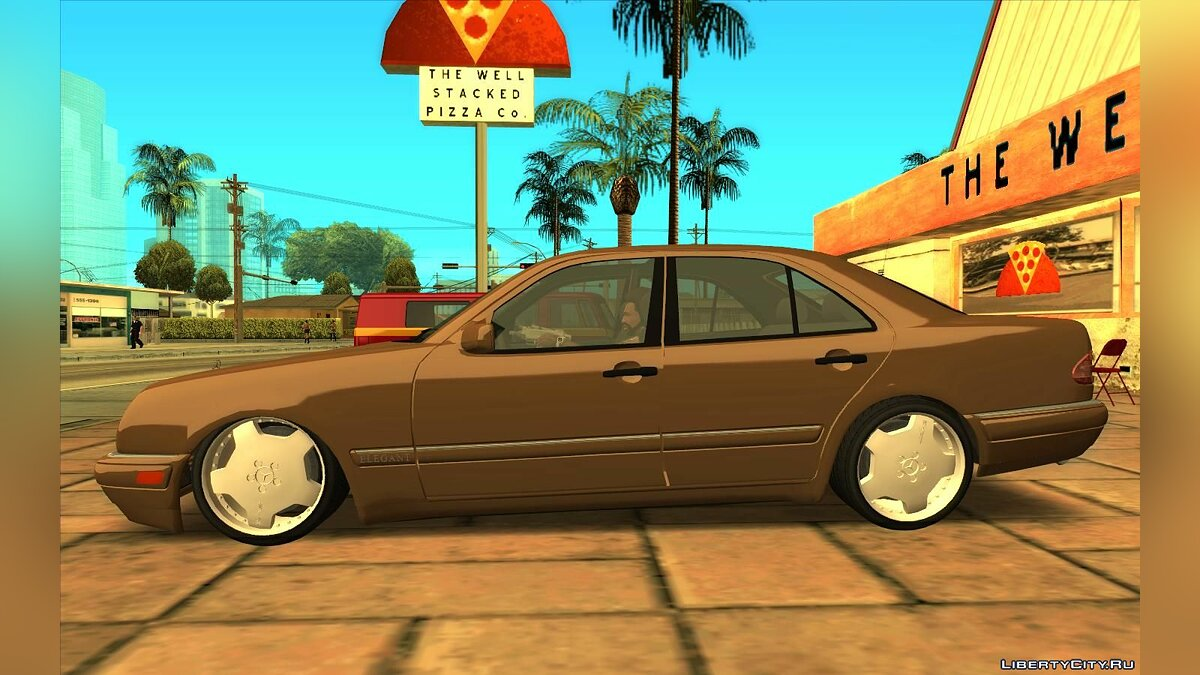 Mercedes-Benz car Mercedes-Benz E420 Elegant for GTA San Andreas